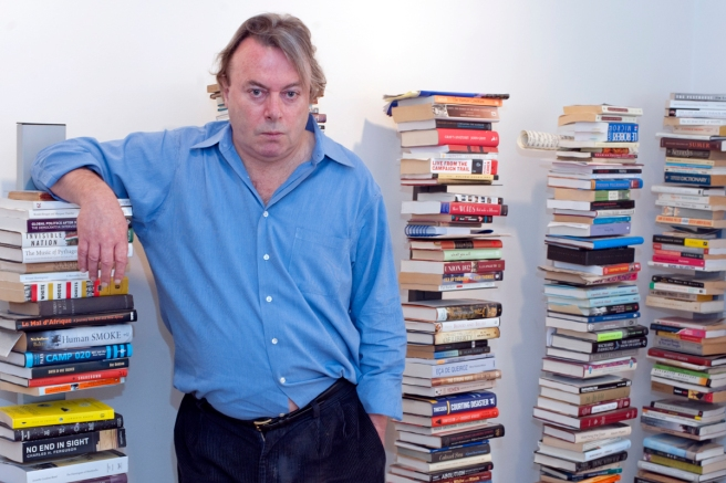 We profile Writer and journalist Christopher Hitchens for a Manuel Roig-Franzia profile  pegged to the release of his memoir.